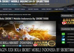 Agen Judi Bola SBOBET Mobile Indonesia By SBOBET888